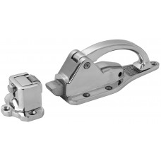 """503-SS    Stainless Latch Padlockable Flush to 1/2"""" Offset"""