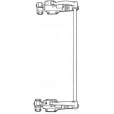 512-001-LH Left Hand Stainless Steel  Double Rod Lock Key Locking
