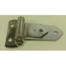 """3-NB-SS     Polished Stainless Steel Hinge  11/32""""  Offset"""